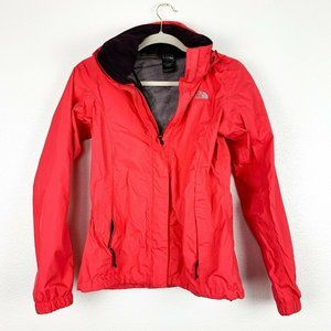 The North Face XS Pink Full Zip Mock Neck Jacket